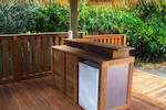Bali Huts and decking, quality construction to enhance your outdoor living areas